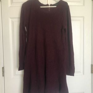 Romeo & Juliet couture purple sweater dress